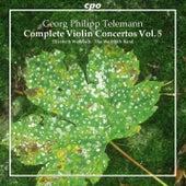 Telemann: Complete Violin Concertos, Vol. 5 by Various Artists