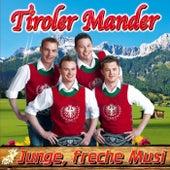 Junge, freche Musi van Tiroler Mander