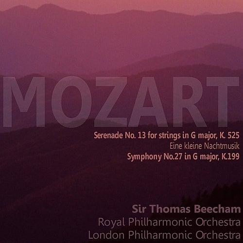 Mozart: Serenade No. 13 for Strings in G Major, K. 525, 'Eine kleine Nachtmusik'; Symphony No. 27 in G Major, K. 199 by Various Artists