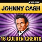 Johnny Cash - 16 Golden Greats de Johnny Cash