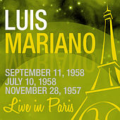 Live in Paris von Luis Mariano
