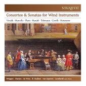 Concertos, Sonatas & Trio Sonatas for Wind Instruments: Vivaldi, Marcello, Platti, Handel, Telemann, Corelli, Hotteterre de Various Artists