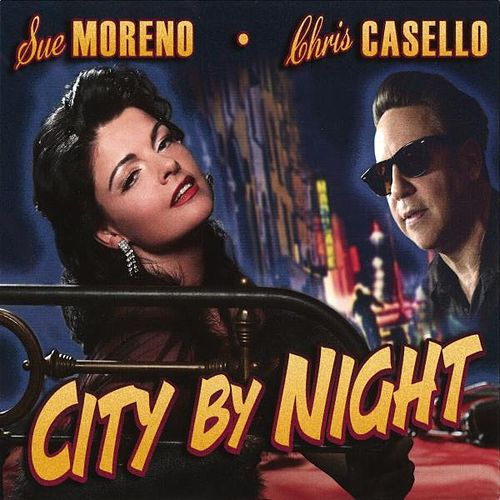 City By Night by Sue Moreno