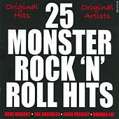 25 Monster Rock 'N' Roll Hits by Various Artists