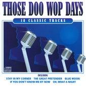 Those Doo Wop Days de Various Artists