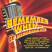 Remember When ... 25 Memorable Hits de Various Artists