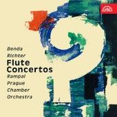 Benda, Richter: Flute Concertos von Jean-Pierre Rampal