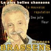 Les plus belles chansons: une jolie fleur, la mauvaise réputation (60 chansons originales de haute qualité) de Georges Brassens