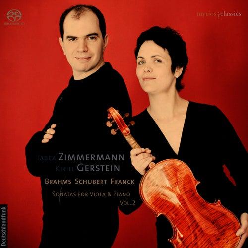 Sonatas for Viola & Piano, Vol. 2 by Tabea Zimmermann