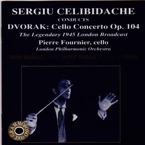 Celibidache Conducts Dvorak: Cello Concerto by London Philharmonic Orchestra