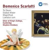 Scarlatti: Te Deum, Stabat Mater, Magnificat, Laetatus sum by Stephen Cleobury