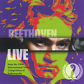 Beethoven: Live from the 1998 International Violin Competition of Indianapolis de Various Artists