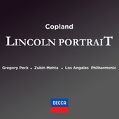 Copeland: Lincoln Portrait by Gregory Peck