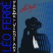 Paname: Vingt Ans (2012 mastering) de Leo Ferre