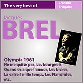 Jacques Brel Live (Olympia 1961) by Jacques Brel