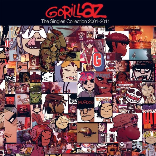 The Singles Collection 2001-2011 de Gorillaz