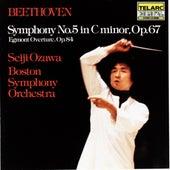 Beethoven: Symphony No. 5 In C Minor, Op. 67 & Egmont Overture by Seiji Ozawa