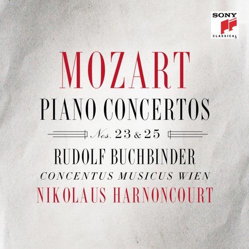 Mozart: Piano Concertos Nos. 23 & 25 by Nikolaus Harnoncourt