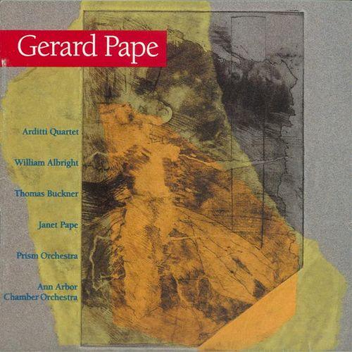 Music of Gerard Pape by Various Artists