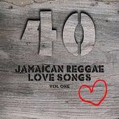 40 Jamaican Reggae Love Songs Vol 1 de Various Artists