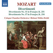 Mozart: Divertimenti Nos. 11 & 17 by Cologne Chamber Orchestra