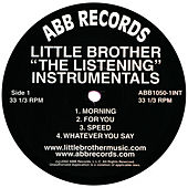 The Listening Instrumentals von Little Brother
