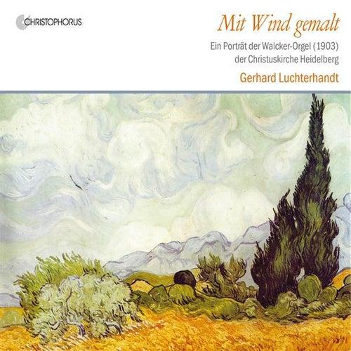 Mit Wind gemalt by Gerhard Luchterhandt