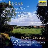 Elgar: Symphony No. 1 & Pomp And Circumstance Marches No.1 And No. 2 von David Zinman