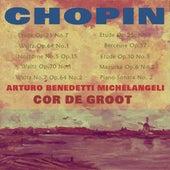 Benedetti Michelangeli and Cor de Groot Play Chopin de Various Artists