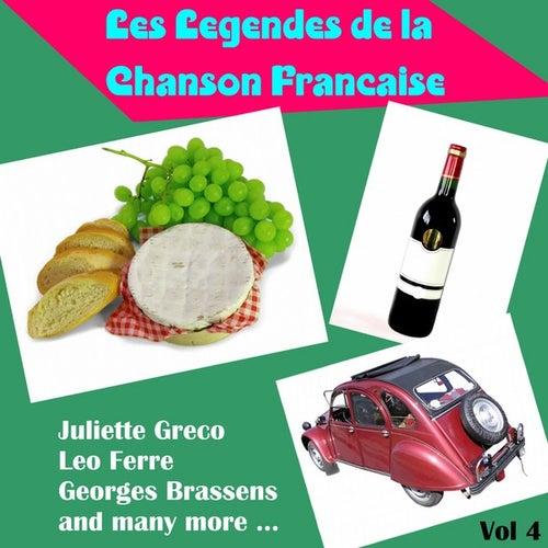 Les Legendes de la Chanson Francaise, Vol. 4 by Various Artists