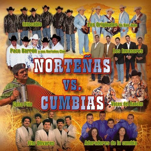 Nortenas Vs. Cumbias by Various Artists