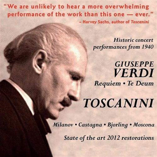 Arturo Toscanini Conducts Verdi: Requiem Mass & Te Deum (1940) by Zinka Milanov