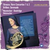 R.Strauss/Britten: Hornkonzerte Nr.1 & 2/Serenade by Marie Luise Neunecker
