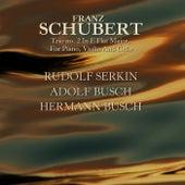 Schubert: Trio No 2 von Rudolf Serkin