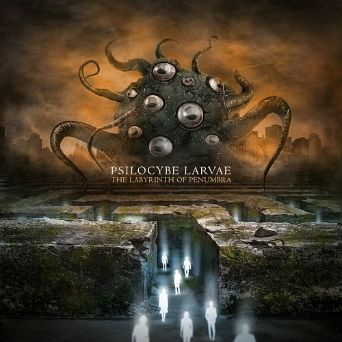 The Labyrinth of Penumbra by Psilocybe Larvae