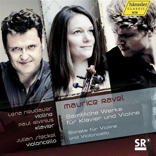 Ravel: Sämtliche Werke fur Klavier und Violine by Lena Neudauer