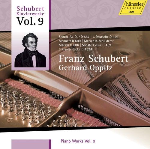 Schubert: Piano Works, Vol. 9 by Gerhard Oppitz