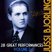 28 Great Performances, Vol. 2 by Jussi Bjorling