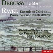 Claude Debussy: La mer - Prélude à l'après-midi d'un faune - Maurice Ravel: Daphnis et Chloé, suite No. 2 - Pavane pour une infante défunte de The Music Of Life Orchestra