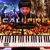 DJ Loot Presents: Cali Fire: Vol. 3 & 4 de Various Artists