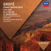 Grofé: Grand Canyon Suite; Copland: Billy The Kid; El Salón México von Detroit Symphony Orchestra