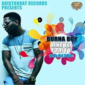 Like to Party by Burna Boy