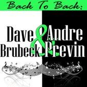 Back To Back: Dave Brubeck & Andre Previn de Various Artists