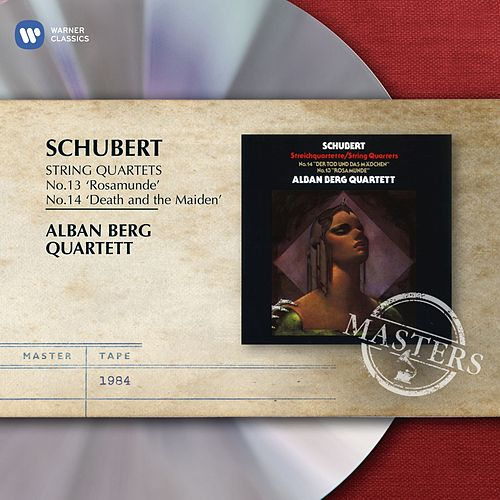 Schubert: String Quartets No. 14 in D minor D.810, 'Death and the Maiden' & No. 13 in A minor D.804 ('Rosamunde') by Alban Berg Quartet