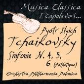 Tchaikovsky: Sinfonie No. 4, 5, 6 ''Pathétique'' (Musica classica - i capolavori...) de The Music Of Life Orchestra