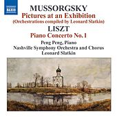 Mussorgsky, M.: Pictures at an Exhibition (Orchestrations Compiled by L. Slatkin) / Liszt, F.: Piano Concerto No. 1 von Various Artists