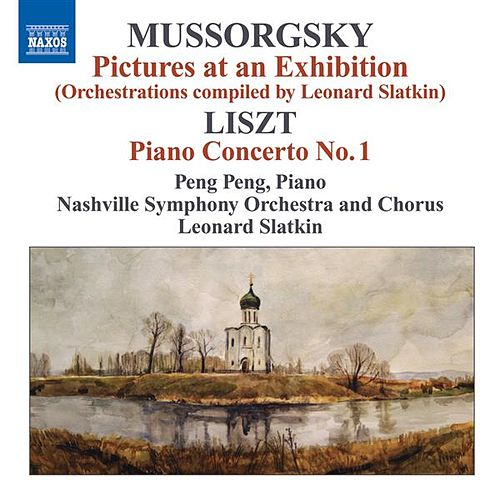 Mussorgsky, M.: Pictures at an Exhibition (Orchestrations Compiled by L. Slatkin) / Liszt, F.: Piano Concerto No. 1 by Various Artists