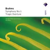 Brahms : Symphony No.1 . Tragic Overture by Kurt Masur