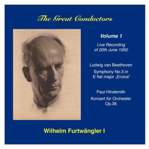 The Great Conductors: Wilhelm Furtwängler, Vol. 1 by Berlin Philharmonic Orchestra