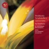 Tchaikovsky: Symphony No. 5; Capriccio Italien: Classic Library Series by Yuri Temirkanov